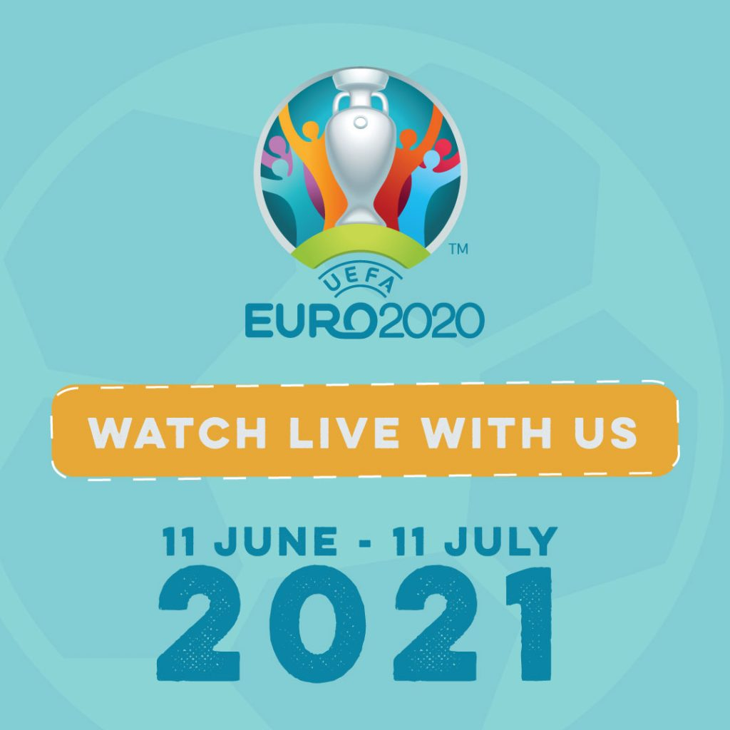 Watch the euros in portsmouth